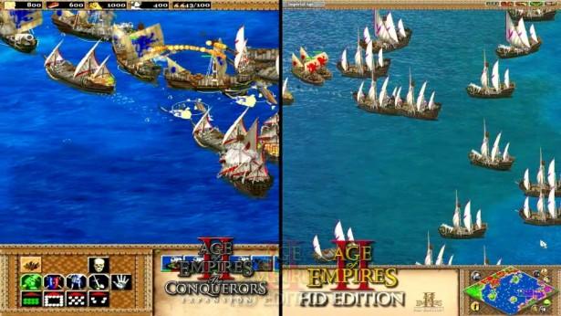 age of empires 2 comparison
